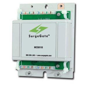 ITW 8 CO - Serge & Lighting Protection for Up to Eight Incoming Lines